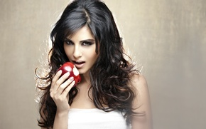Picture girl, sexy, Sunny Leone, eyes, smile, beautiful, model, pretty, beauty, lips, hair, brunette, pose, cute, …