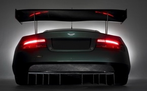 Wallpaper lights, wing, aston martin dbr9