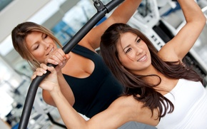 Picture fitness, gym, trainer