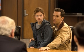 Picture the role, Matthew McConaughey, Interstellar, Mackenzie Foy