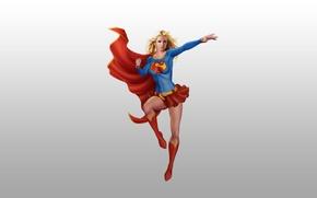Picture hero, Superman, comic, Superman, Supergirl, Supergirl
