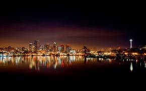 Picture city, the city, USA, Washington, Seattle