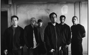 Picture Wallpaper, black and white, linkin park