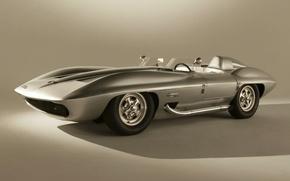 Picture Corvette, Chevrolet, the concept, Chevrolet, the front, Concept Car, Stingray, 1959, Corvette, Racer