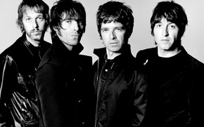 Picture group, rock, Oasis, Noel Gallagher, Liam Gallagher