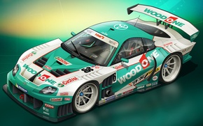 Picture art, Toyota, Supra, Toyota, supra, race car
