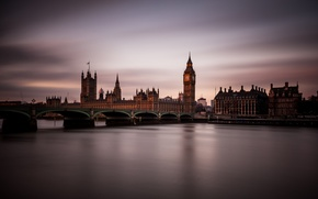 Picture England, London, the evening, twilight
