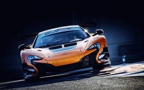 Picture McLaren, GT3, Abu Dhabi, 2014, 650S