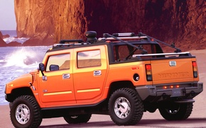Picture jeep, SUV, Hummer H2 SUT