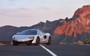 Picture road, auto, markup, McLaren, supercar, the front, McLaren, 570GT