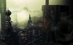 Picture future, The city