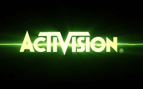 Picture the game, logo, logo, activision