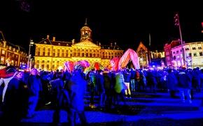 Picture night, Amsterdam, Netherlands, night, Amsterdam, Netherlands