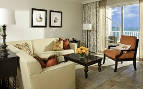 Picture comfort, room, view, pillow, pictures, balcony, classic, sofas, light