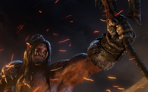 Picture WoW, World of Warcraft, Orc, Blizzard Entertainment, Video Game, Warlords, Grommash Hellscream, Champion of the …