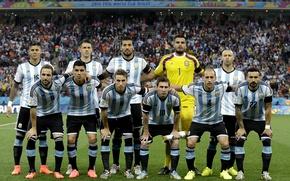 Picture Lionel Messi, Lionel Messi, Gonzalo Higuain, Javier Mascherano, Javier Mascherano, Selection of soccer of Argentina, …