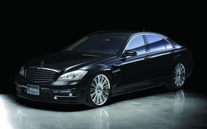 Picture Mercedes-Benz, black, w221