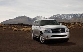 Picture desert, jeep, SUV, infiniti