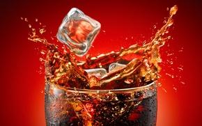 Wallpaper yoram aschheim, Coca-Cola, ice