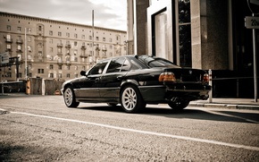 Picture Wallpaper, BMW, Car, wallpapers, E38, BMW 750