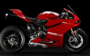 Picture Ducati, race, beauty, racing, superbike, 1199, Panigale, italian, L-twin