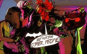 Picture batman, art, mask, hotline miami