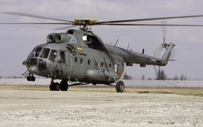 Picture the rise, Mi-8MTV, The air force of Lithuania