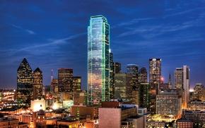 Picture Texas, USA, city, the city, Dallas, Dallas, Texas, USA