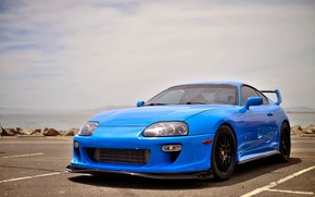 Picture wheels, supra, black, toyota, blue