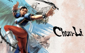 Picture fighter, street, chun li