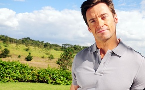 Picture nature, background, actor, male, Hugh Jackman, Hugh Jackman