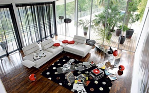 Picture design, house, style, room, Villa, interior, living room