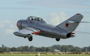 Picture flight, fighter, Soviet, The MiG-15