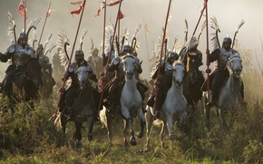 Picture history, 1612, The time of troubles, Polish winged hussars