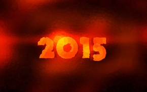 Picture tree, New Year, new year, Santa Claus, tangerines, 2014, 2015