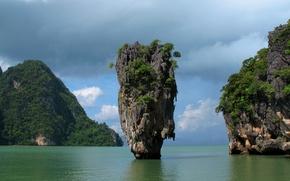 Picture rocks, Thailand, Phuket, Thailand, Phuket, Phang Bay, Phang nga Bay, James Bond Island, Khao Phing …