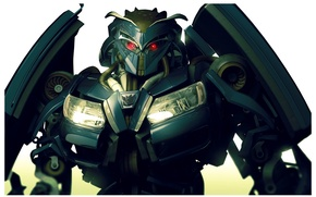 Picture mechanism, armor, red eyes, Combat robot