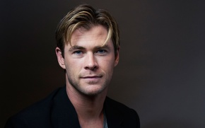 Picture portrait, photographer, actor, Chris Hemsworth, Chris Hemsworth, Victoria Will