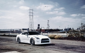 Picture nissan, gtr, Wheels, Before, Garde