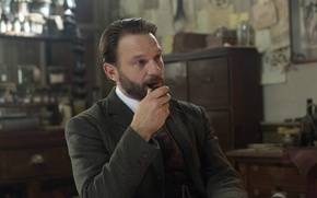 Picture tube, costume, actor, the series, men, character, Professor, Dracula, Dracula, NBC, TV show, Thomas Krechman, ...