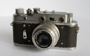 Wallpaper the camera, film, rangefinder, Zorki 2-s