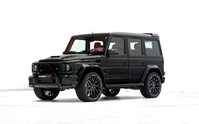 Picture W463, g, Brabus, Mercedes-Benz, BRABUS, black, Mercedes, G-Class, SUV