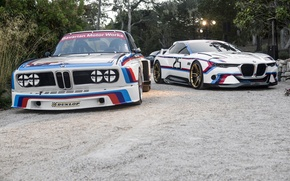 Picture Concept, BMW, BMW, Hommage, 3.0, The front, CSL, Old and New