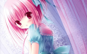 Picture Girl, Look, Anime, Art