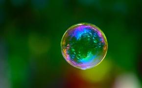 Picture green, color, Bubble