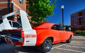 Wallpaper Daytona, Car, Muscle, Dodge, Charger, The charger, Dodge, 1969, Daytona
