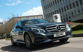 Picture road, Mercedes-Benz, the front, CDI, E 250, nchina