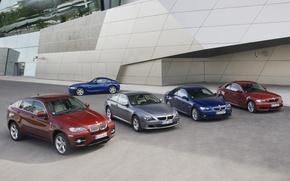 Wallpaper BMW, cars, a lot