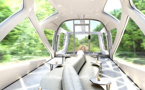 Picture interior, the car, wraps, JR East, p6-s3-train, new luxury train, new luxury train, P6-S3-train, Jr …