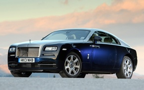 Picture blue, Rolls Royce, Wraith